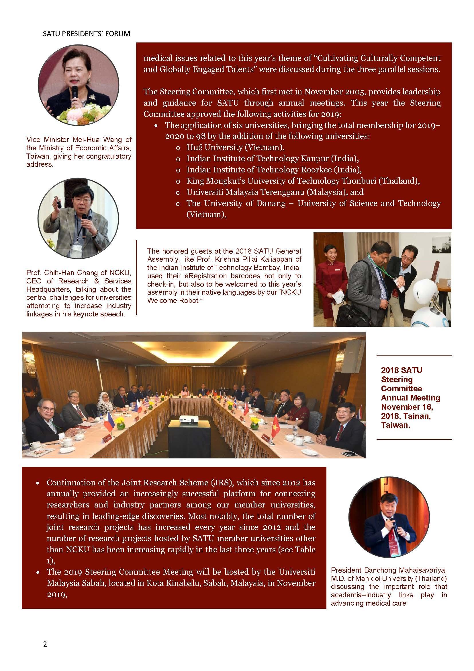 SATU E-News Vol. 3 page 2
