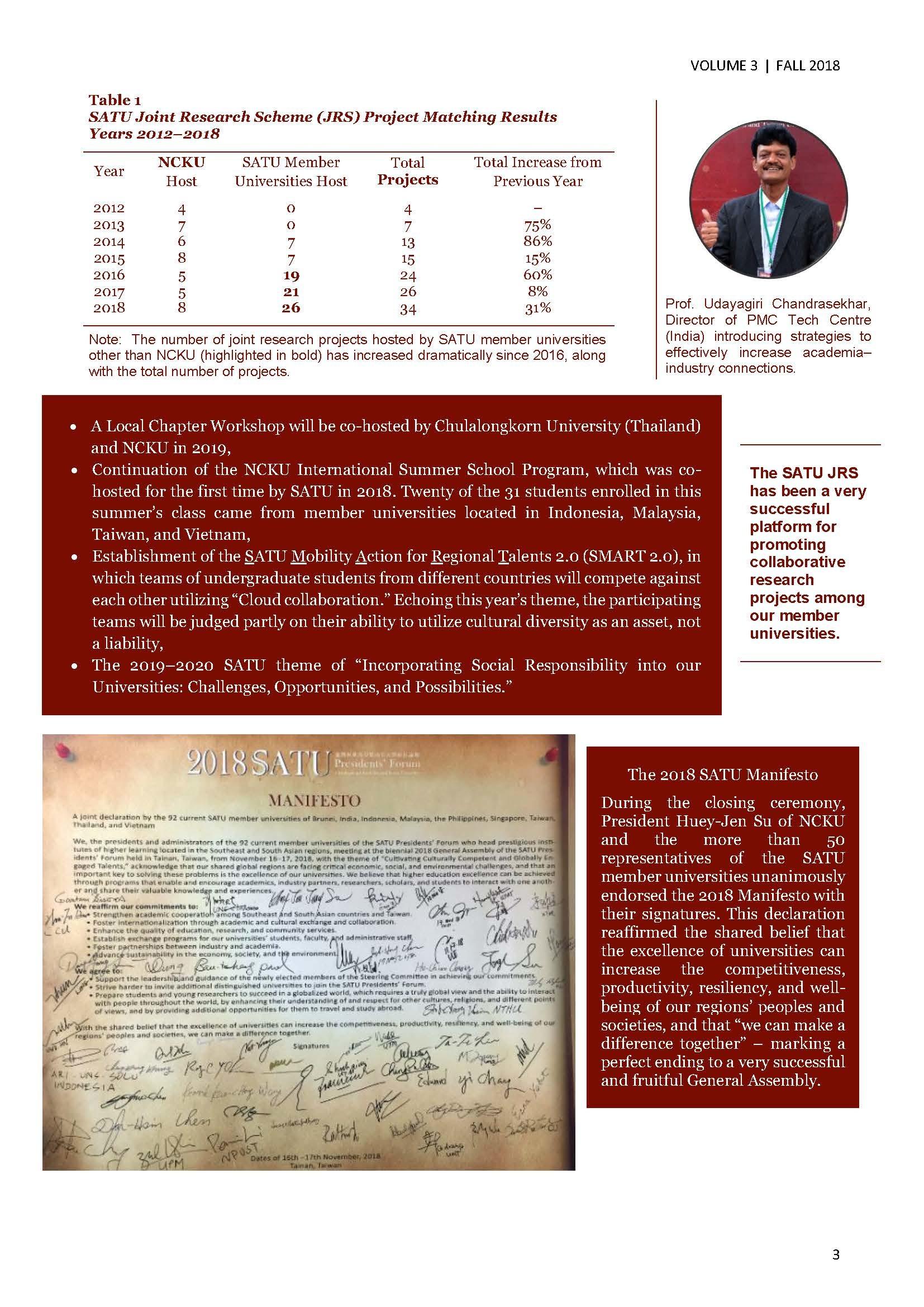 SATU E-News Vol. 3 page 3